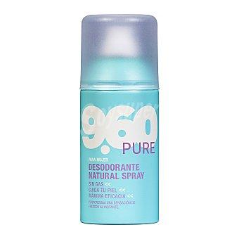 9.60 Desodorante spray mujer natural pure (sin gas) Bote 150 cc