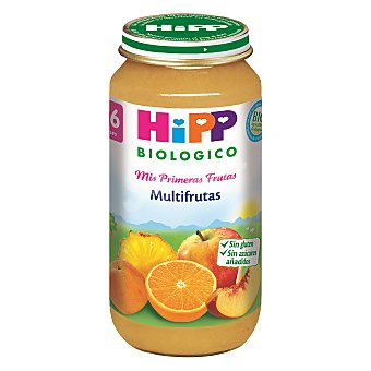 HiPP Biológico Tarrito de multifrutas +4 meses Envase 250 g