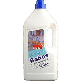 Aliada gel limpiador de baño Botella 1,5 l