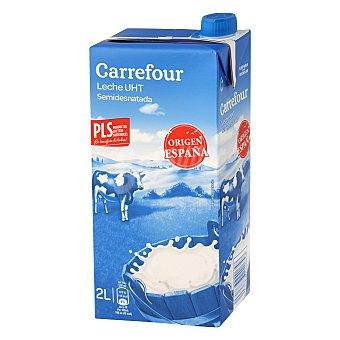 Carrefour Leche semidesnatada 2 l