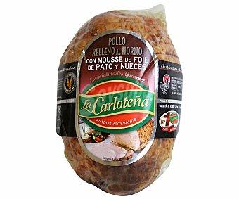 La Carloteña Pollo Relleno Mousse de Pato con Nueces 1 Kilogramo