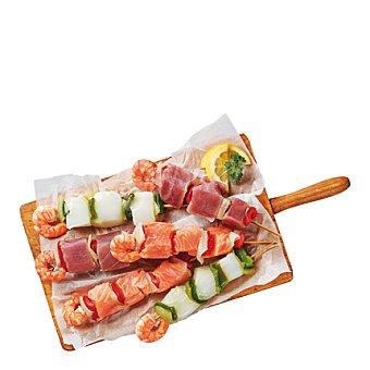 Brochetas de salmón 450 g