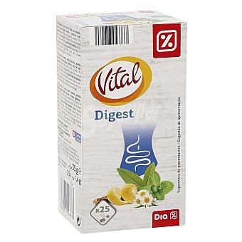 DIA VITAL Infusión digestiva Estuche 25 bolsitas