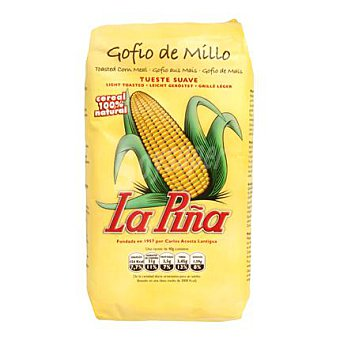 La Piña Gofio de millo sabor suave 500 G 500 g