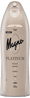 Magno Gel de baño Platinum 550 Mililitros