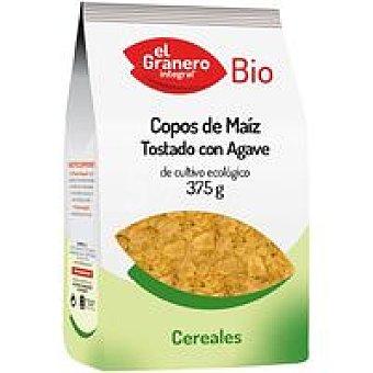 El granero Copos de maíz tostado Agave Bolsa 375 g
