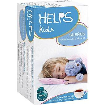 HELPS KIDS Sueños Infusión infantil ayuda a conciliar el sueño Estuche 20 bolsitas