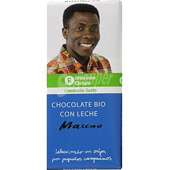 Intermón Oxfam Chocolate Bio con Leche Tableta 100 g