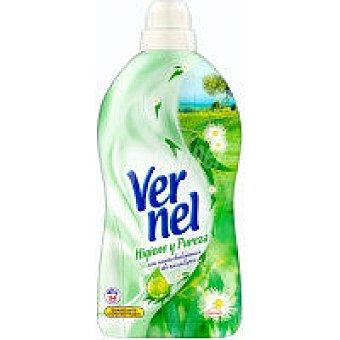 Vernel Suavizante concentrado higiene Garrafa 60 dosis
