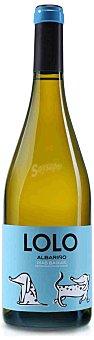 Lolo Vino blanco albariño D.O. Rías Baixas Botella 75 cl