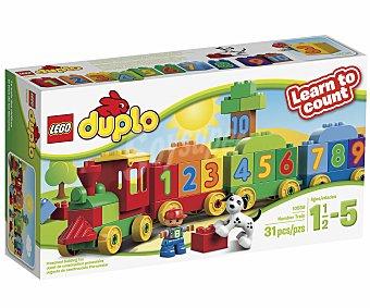LEGO Juego de Construcciones Duplo, El Tren de los Números, Modelo 10558 1 Unidad