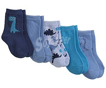 In Extenso Lote 5 pares de calcetines talla 18