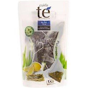 Cuida Té Té azul Wulung de algas al limón Caja 10 monodosis