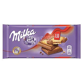 Milka Tableta chocolate con leche y galleta Tableta 87 g