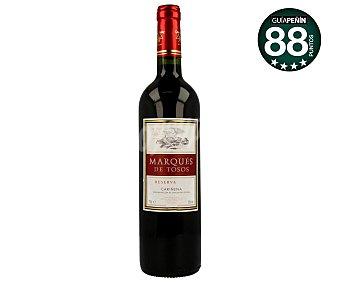 Marques de Tosos Vino tinto reserva Botella 75 cl
