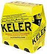 Cerveza 18 6 botellines de 25 cl Keler