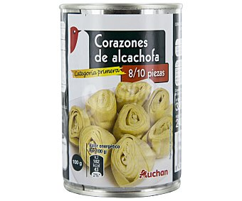 Auchan Alcachofas Lata de 240 Gramos