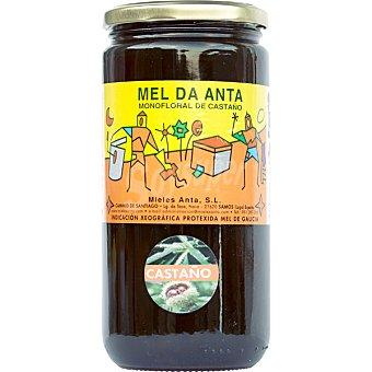 Mel da anta Miel monofloral de castaño I. G. P. Mel de Galicia Frasco 1 kg