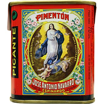 LA PURISIMA Pimentón picante Lata 125 g