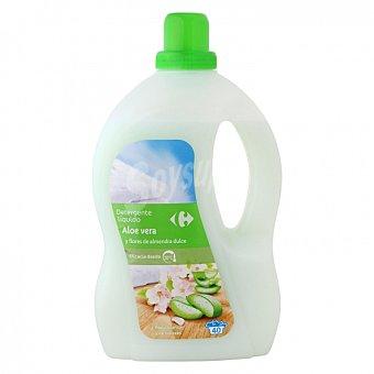 Carrefour Detergente líquido aloe vera y flores de almendras 40 lavados 40 lavados