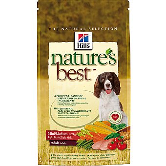 HILL'S NATURE'S BEST ADULT Mini/medium alimento formulado para cubrir las necesidades de perros de raza mini y medium Bolsa 2 kg