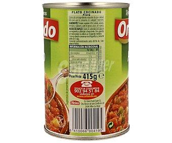 Orlando Pisto 425 gramos
