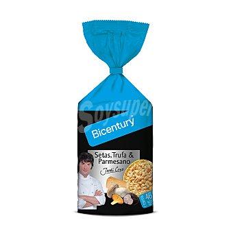 BICENTURY Tortitas de maiz sabor setas trufa y parmesano por Jordi Cruz  bolsa 124 g