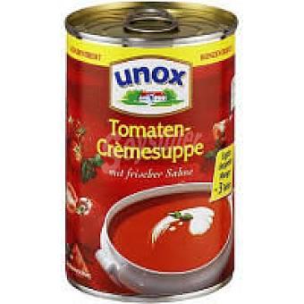 Unox Crema de tomate Caja 390 g