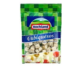 HOLCHAND Queso en cubos ensalada ,finas hierbas 150 Gramos