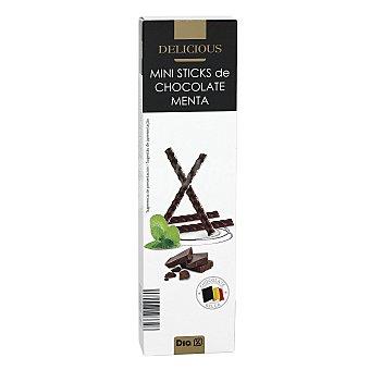 DIA Delicious Mini sticks de chocolate con menta caja  75 gr