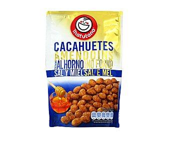 Matutano Cacahuetes con sal-miel Bolsa 150 g