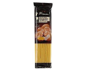 Auchan Espaguetis, pasta de sémola de trigo duro de calidad superior al huevo 250 gramos