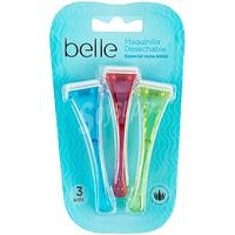 Care Maquinilla desechable zona bikini belle & Pack 3 unid