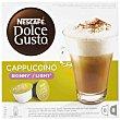 Cápsulas Cappuccino Light (8 Cápsulas de Café + 8 Cápsulas de Leche) 16 capsulas ( 8 de café + 8 de leche) Dolce Gusto Nescafé