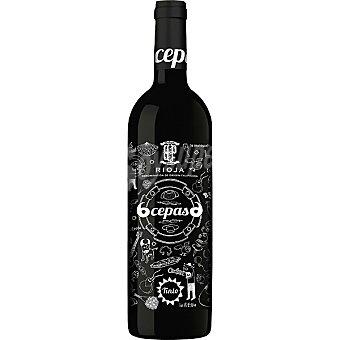 6 Cepas 6 Vino tinto crianza D.O. Rioja Botella 75 cl