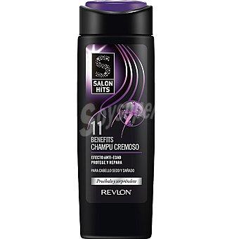 SALON HITS 11 Benefits Champú cremoso efecto anti-edad para cabello seco y dañado frasco 300 ml Frasco 300 ml