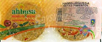 Ahimsa Burguer de setas y pimientos 150 gramos
