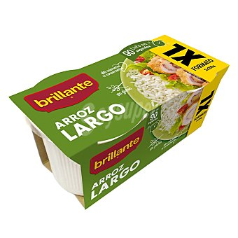 Brillante Arroz cocido largo formato xl Pack 2 envases 200 g
