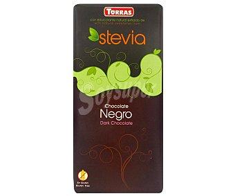 Torras Chocolate negro 60% sin azúcar con stevia sin azúcar  100 g