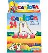Rotuladores de Colores 24 ud. Carioca