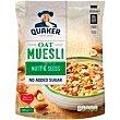 Muesli de frutos secos-semillas quaker, paquete 600 G Paquete 600 g Quaker