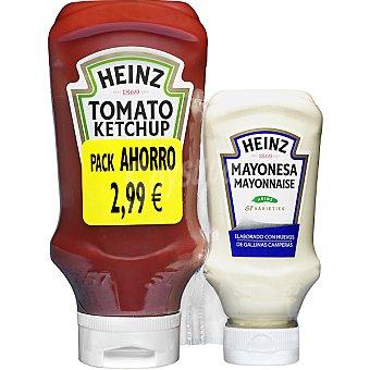 Heinz Pack ketchup + mayonesa Envase 790 ml