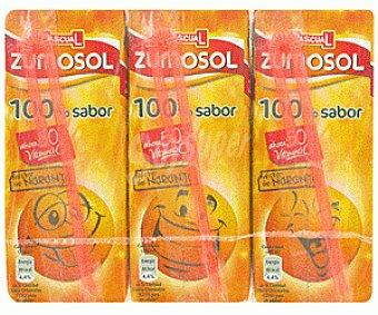 Zumosol Néctar de Naranja 3 bricks de 200 ml