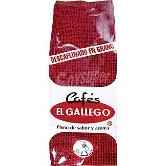 El Gallego Café descafeinado en grano Paquete 250 g