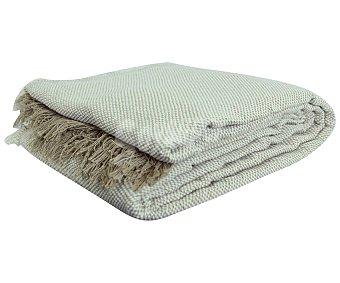 Productos Económicos Alcampo Colcha 100 % algodón color crudo para cama individual, 150x250cm alcampo