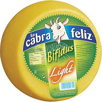 La cabra feliz Queso de cabra bifidus light peso aproximado pieza 25 kg