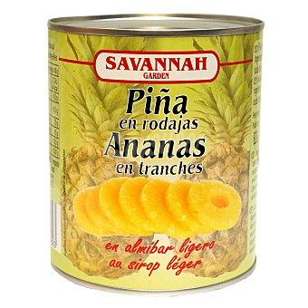 Savannah Piña en rodajas en almíbar ligero 490 g