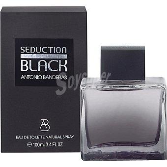 ANTONIO BANDERAS Black Seduction Natural eau de toilette masculina Spray 100 ml
