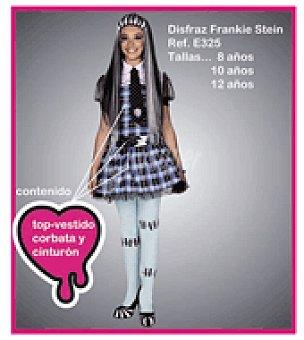 Disfraz frankie stein percha y bolsa T/3 (disfraz con falda + cinturón)