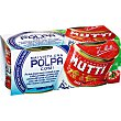Tomate triturado con pulpa Pack 2 lata 210 g MUTTI